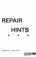 Super Handyman S Encyclopedia Of Home Repair Hints Better