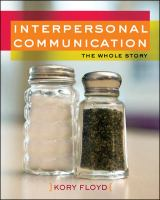 interpersonal communication floyd 3rd edition citation