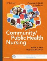 advanced practice nursing in the community helvie carl o